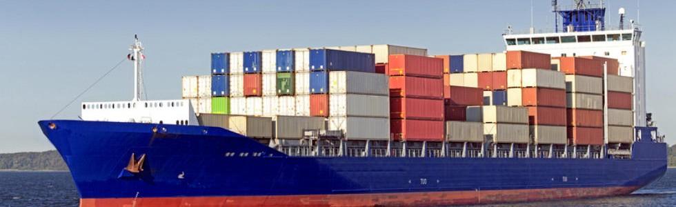 Containerschiff auf der Ostsee: So in etwa könnte Ihr Investment Schiffsfonds aussehen